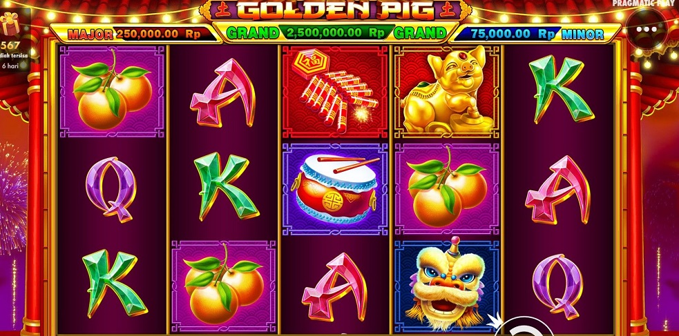 Fruit and American Slot of Casino Online